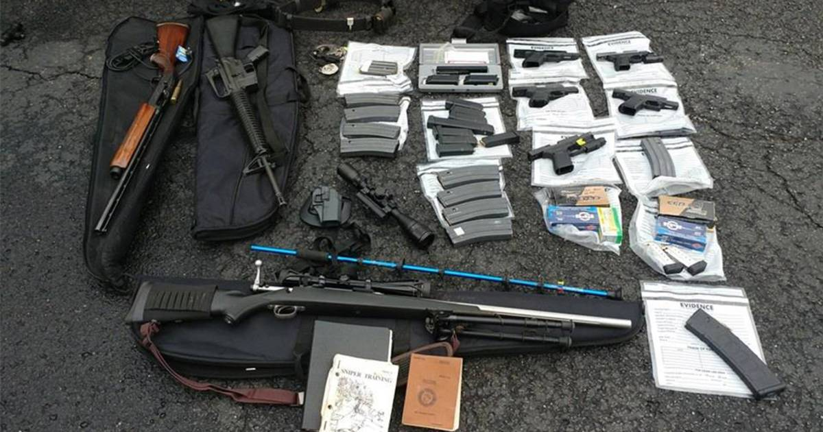 Police in Kentucky believe they stopped possible mass shooting in arresting man with five loaded guns in his car