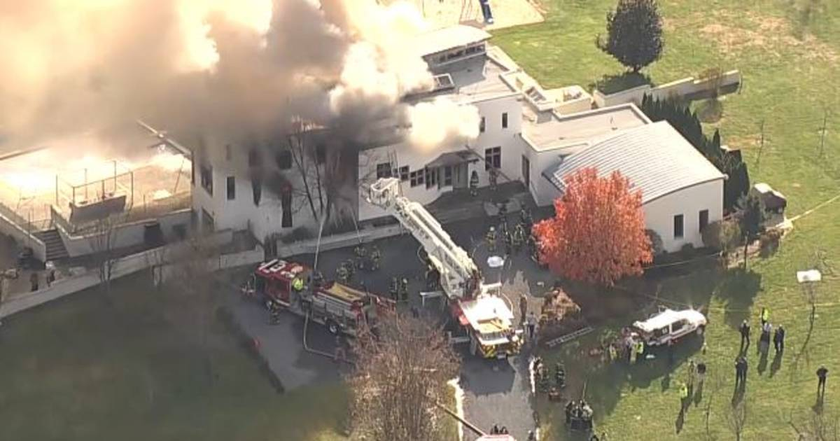 2 children and 2 adults found dead at a charred, massive New Jersey house in possible arson fire