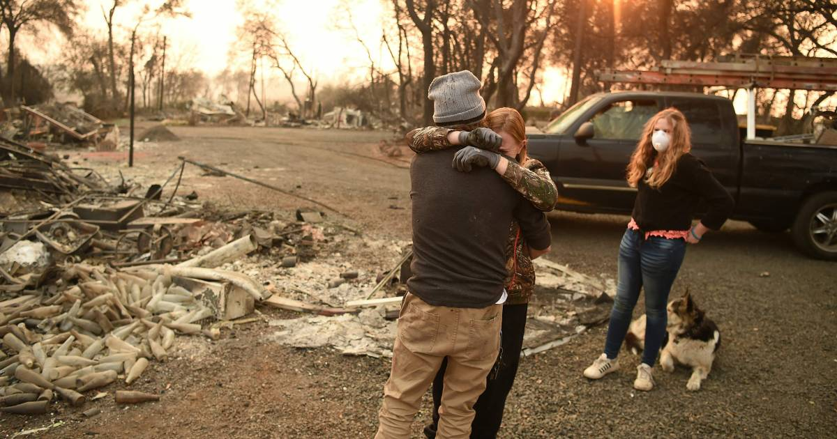 Why number of missing in California fires keeps fluctuating