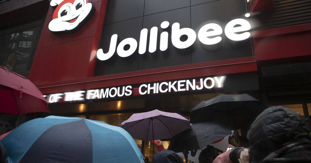 A Filipino favorite, Jollibee aims for international growth