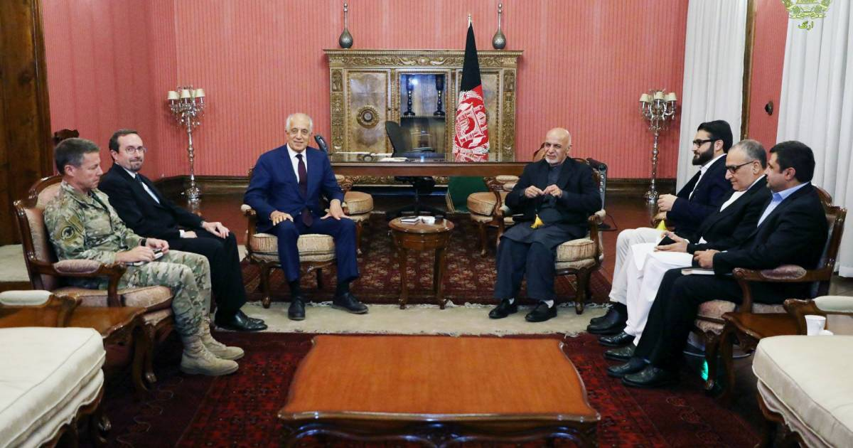 U.S. envoy moves fast to make peace with Taliban before Trump can pull plug
