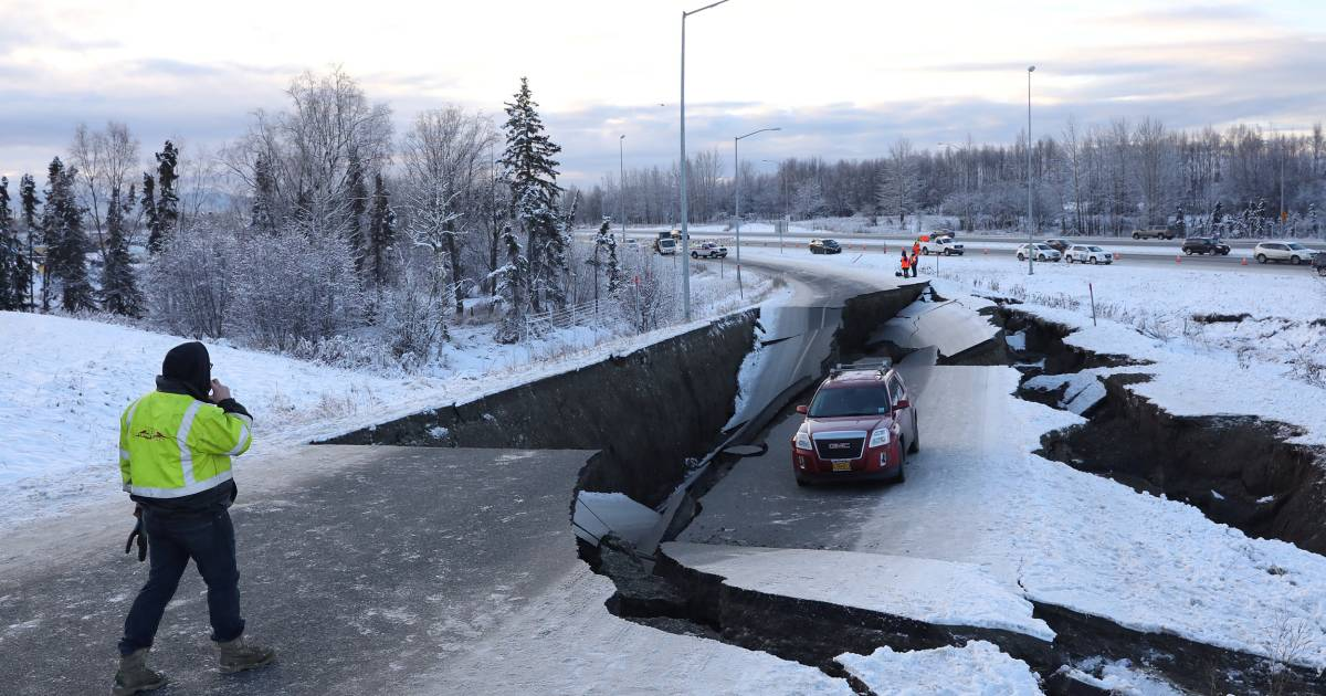 alaska earthquake today - photo #16