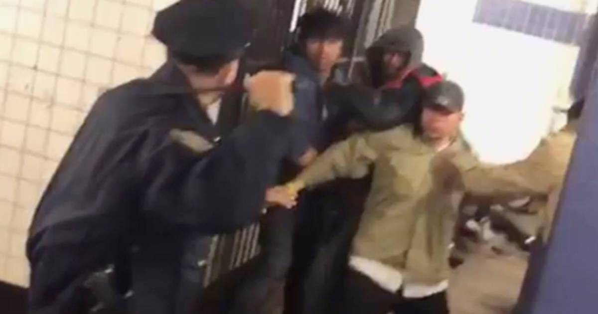 nypd officer speaks out on his widely praised use of nonlethal force