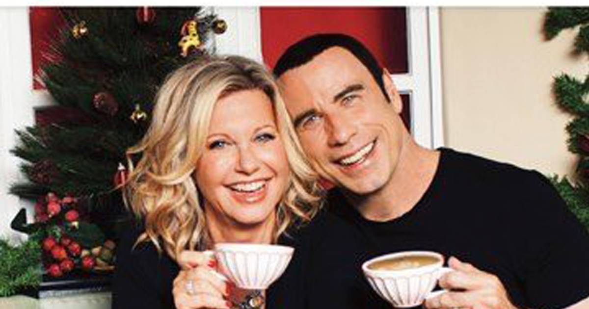 We go together! John Travolta, Olivia Newton-John reunite for ...