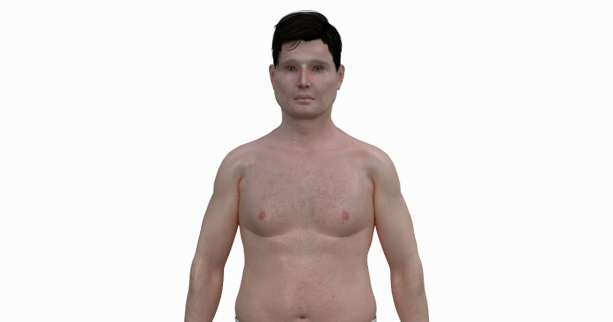The Real Shape Of The American Man Dudes Youre Porky