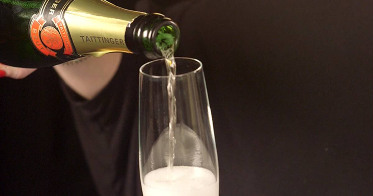 how to properly open a bottle of champagne