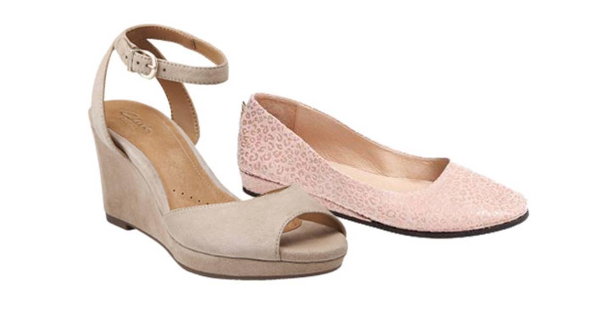 Cute, comfortable shoes: Sandals, heels, pumps, clogs