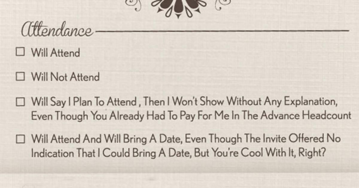 Wedding invitation funny ideas for invites stopboris Image collections