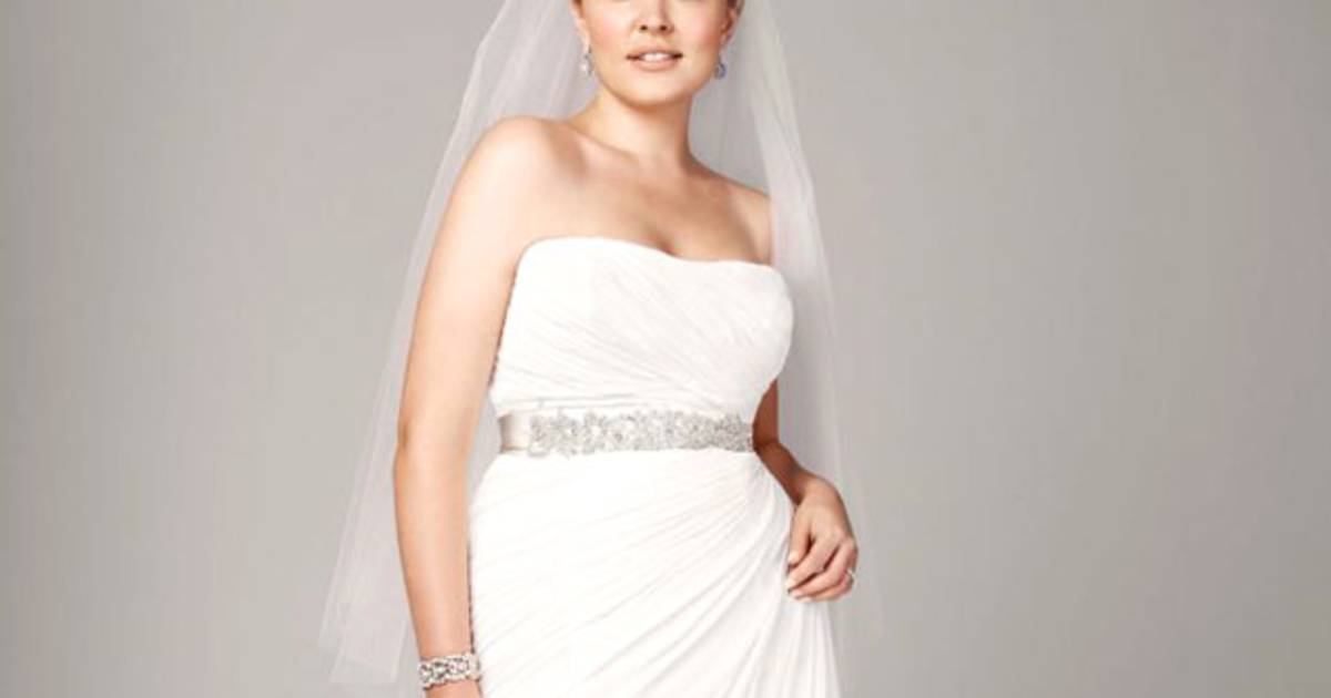 5 proven tricks to scoring a plus size wedding dress at a for Virtual try on wedding dress