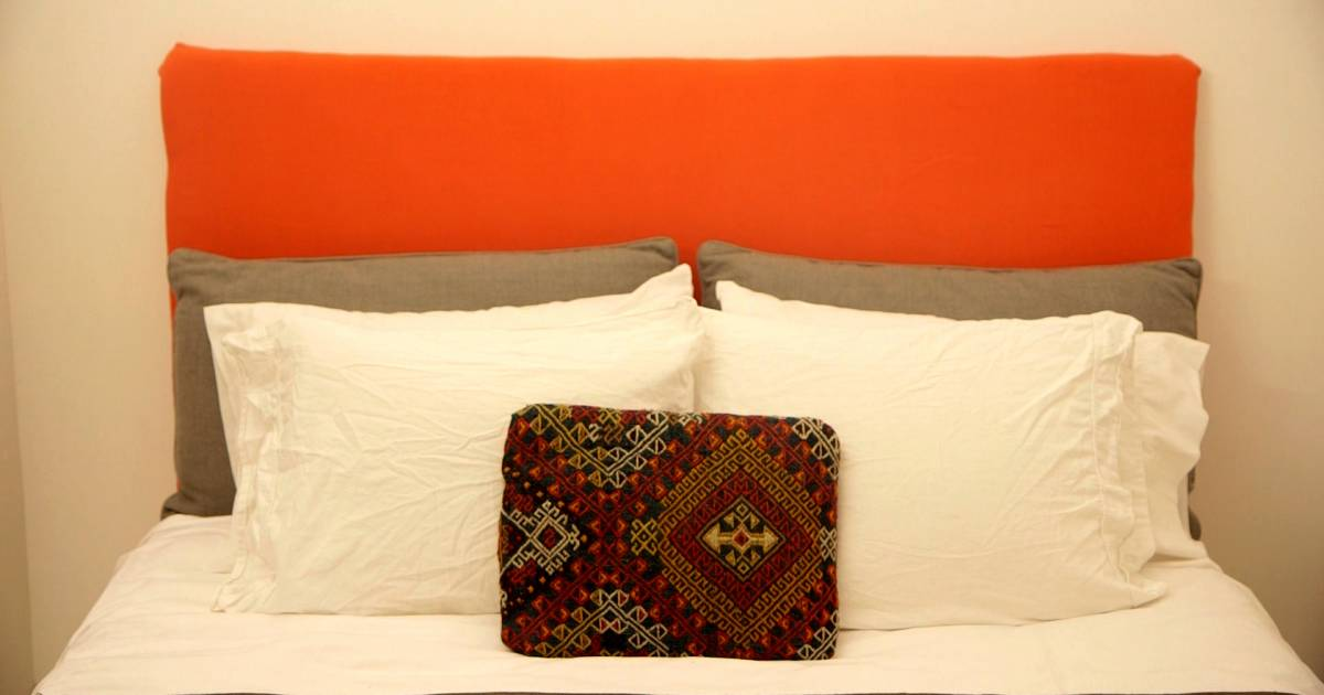 It 39 s easier than it looks learn how to make your own - Make your own headboard ...