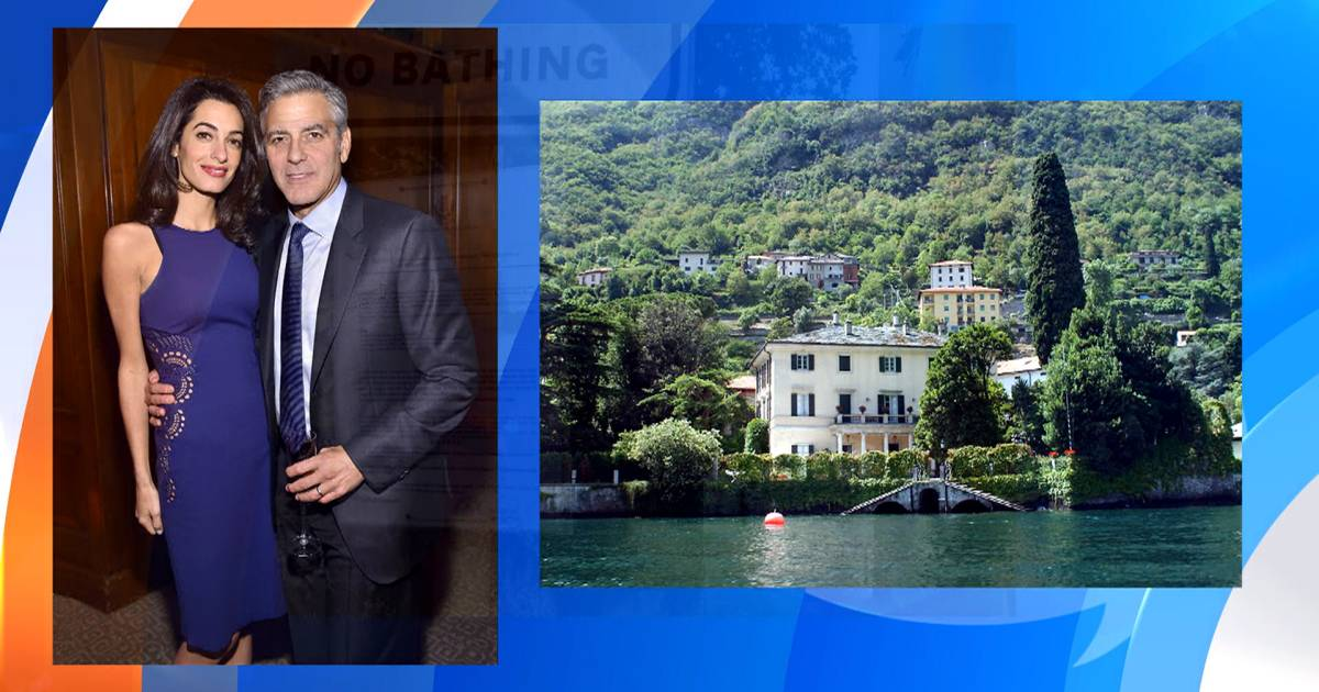 Italy mayor warns fans to stay away from George Clooney's villa