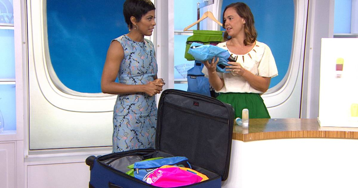 How to pack light and save space
