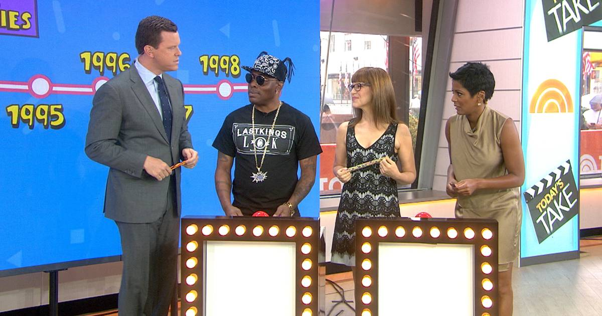 Coolio and Lisa Loeb put their 1990s knowledge to the test