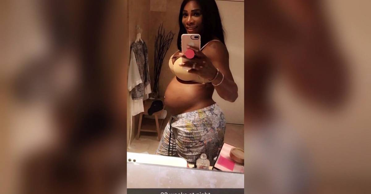 Serena Williams Posts Pics Of New Baby Alexis Olympia