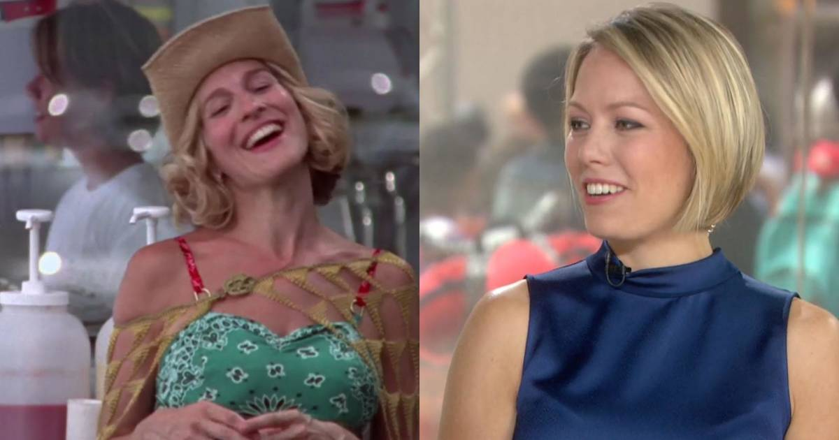 Watch Dylan Dreyer Serve Ice Cream On Sex And The City