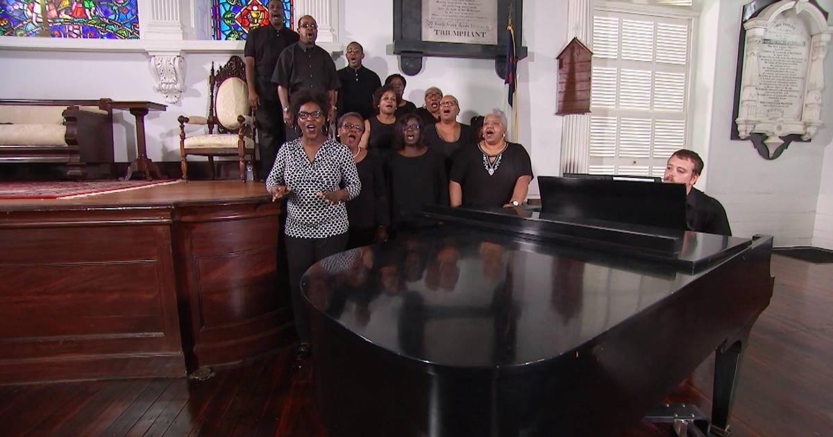 "The Charleston Spiritual Ensemble performs ""Amazing Grace"""