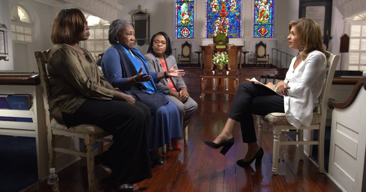 Charleston shooting survivors open up about the power of forgiveness