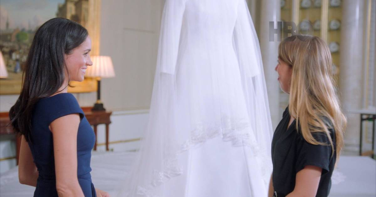 Duchess Meghan reunites with wedding dress, reveals precious secret
