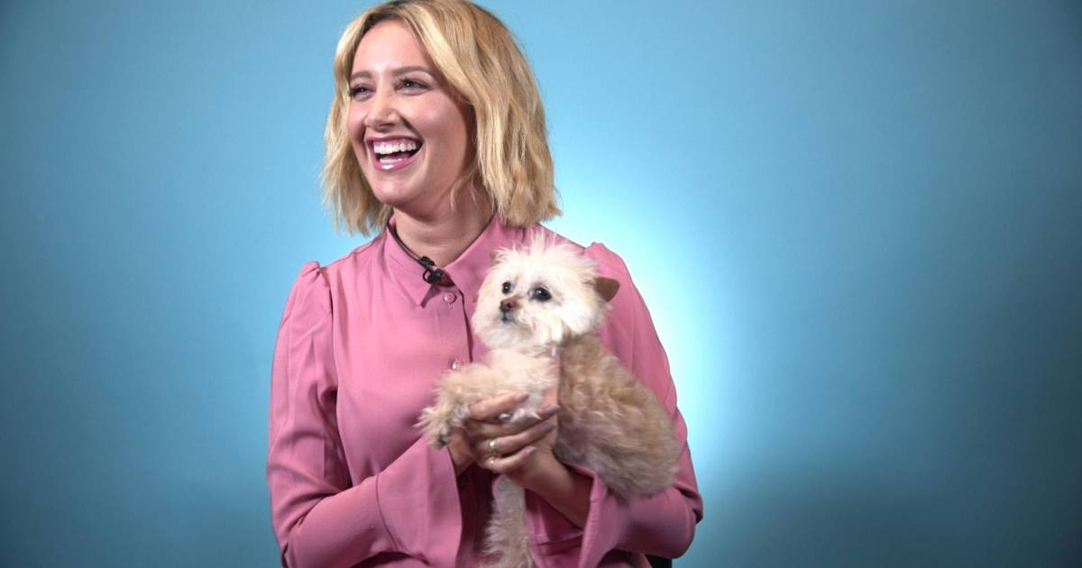 Ashley Tisdale's dog got her through her 20s, dating