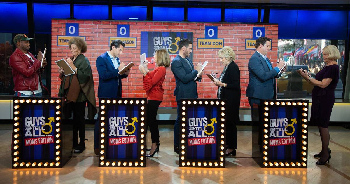 Moms Know Best Guys Tell All Panelists Put It To The Test