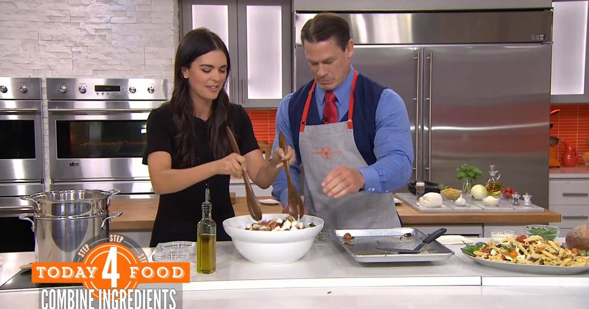 our favorite recipes from chef katie lee 39 s kitchen. Black Bedroom Furniture Sets. Home Design Ideas