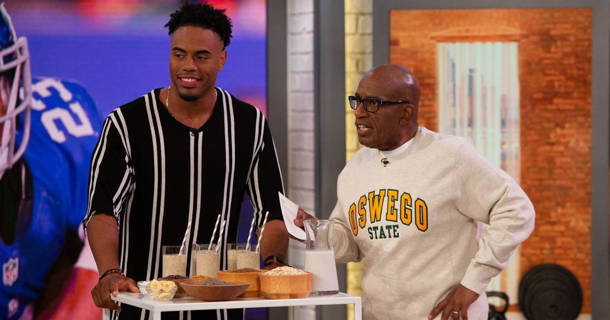 Former NFL player Rashad Jennings shares healthy living advice