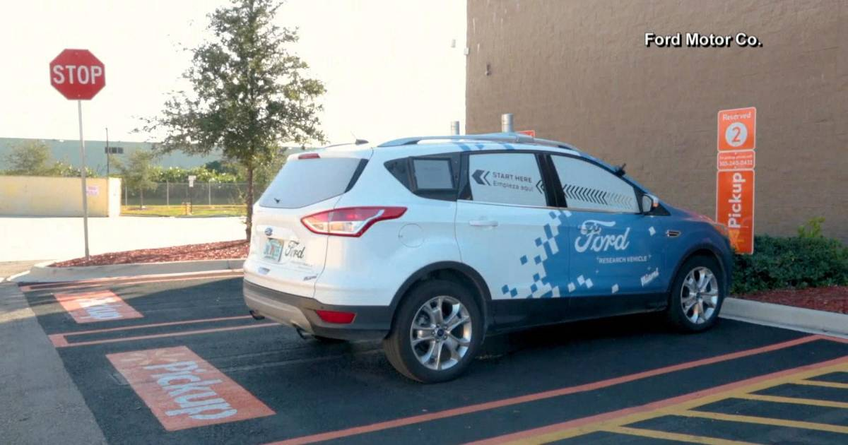 Ford and Walmart team to test self-driving car deliveries