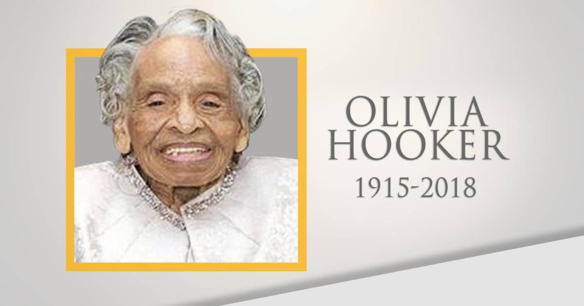 Civil rights trailblazer Dr. Olivia Hooker dies at 103