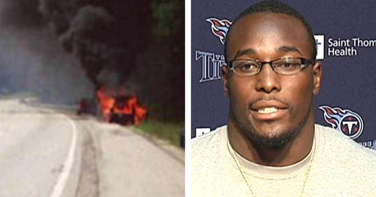 NFL rookie pulls family from fiery car crash