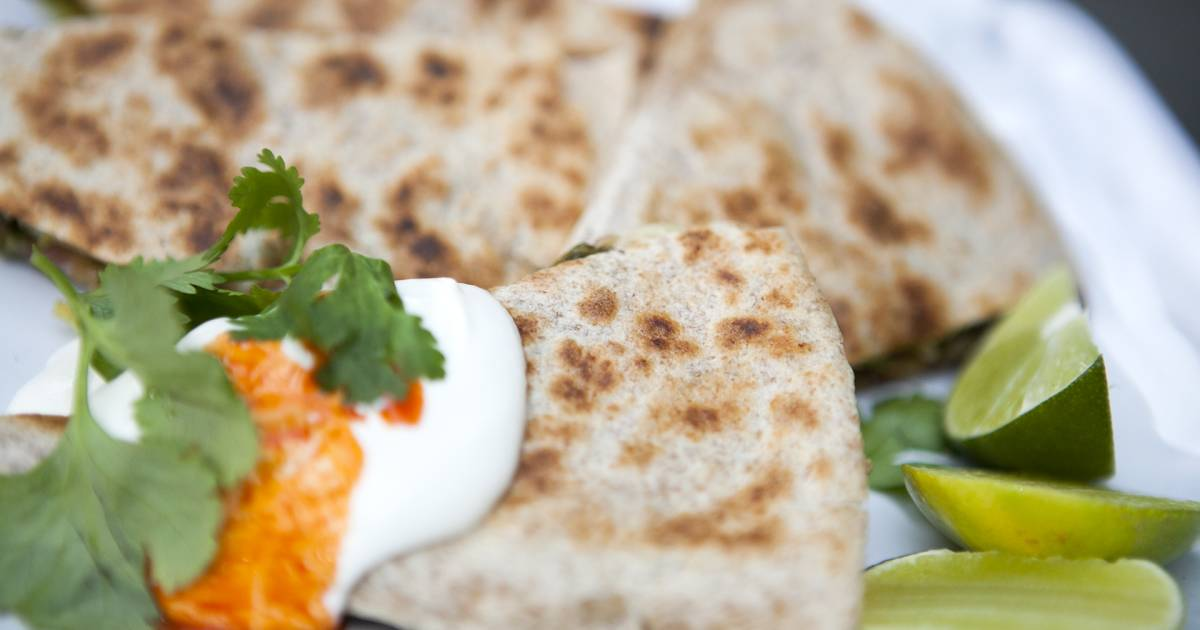 Jamie Oliver shares his recipes for quesadillas, giant meatballs and other global comfort foods
