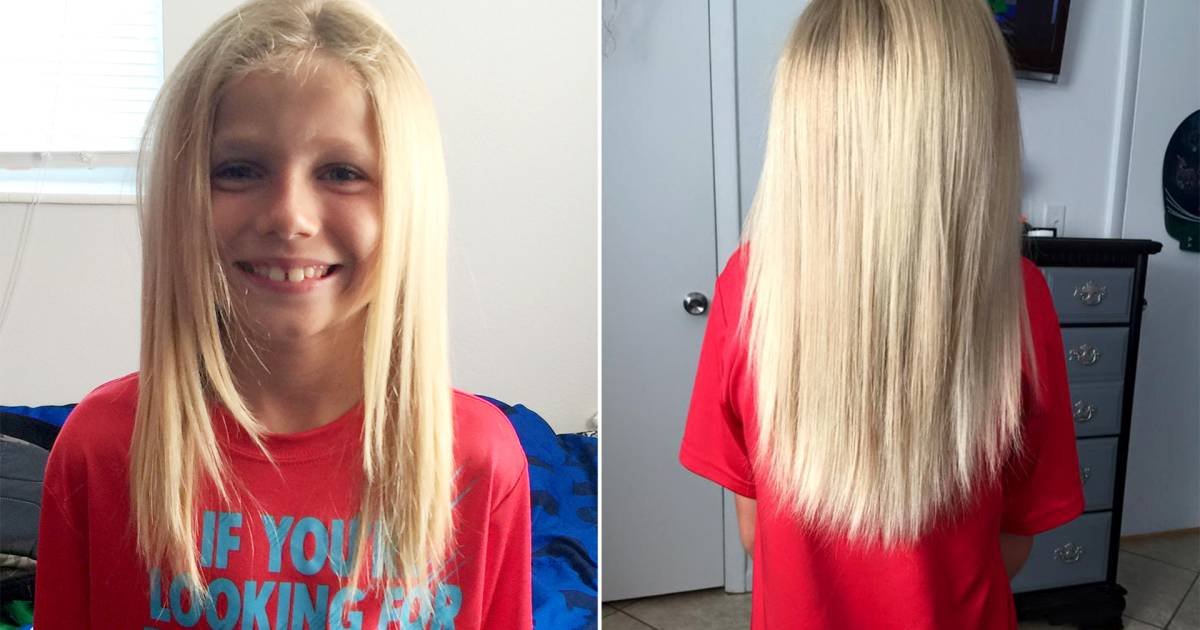 Florida Boy Grows Out Hair To Donate To Child In Need