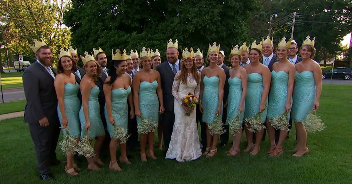 Burger King Wedding | Joel Burger And Ashley King Tie The Knot In A Whopper Of A Wedding