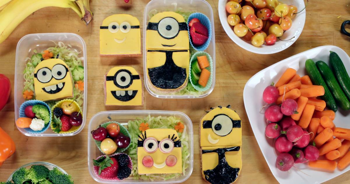 Delight your kids with adorable sandwiches: Minions, PB&J 'sushi' and more