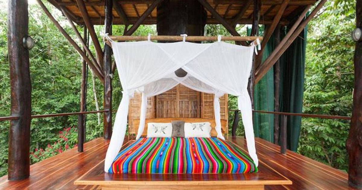 See inside couple's gorgeous 3-story treehouse in the ...