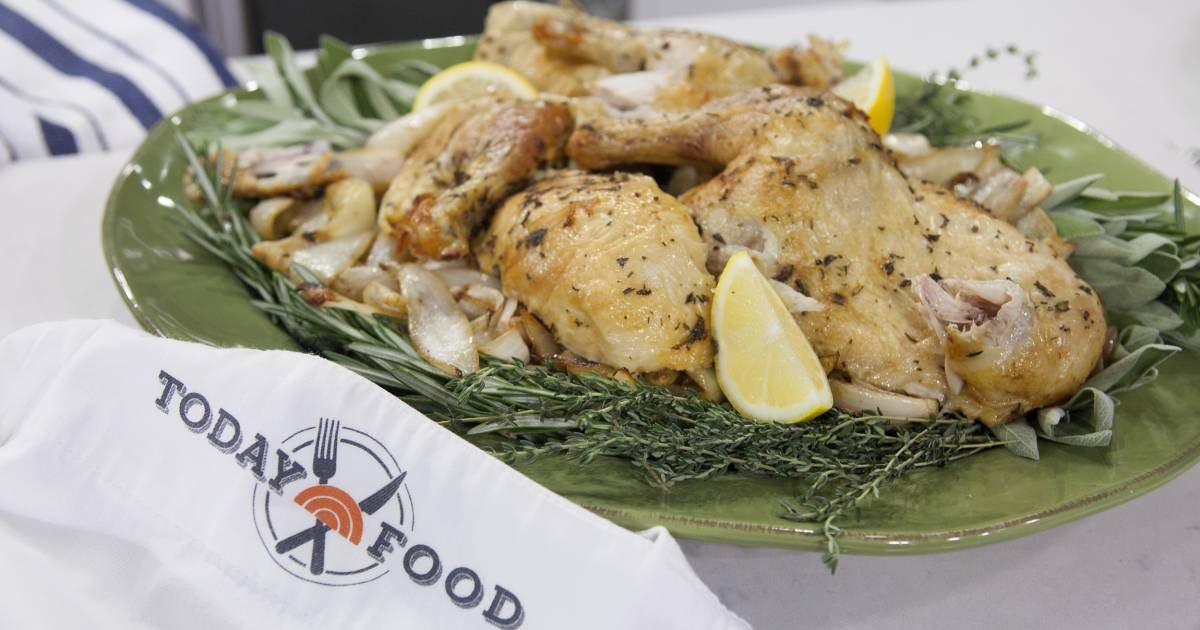 What's the secret to Al Roker's perfect roasted chicken? Crispy, salty skin!