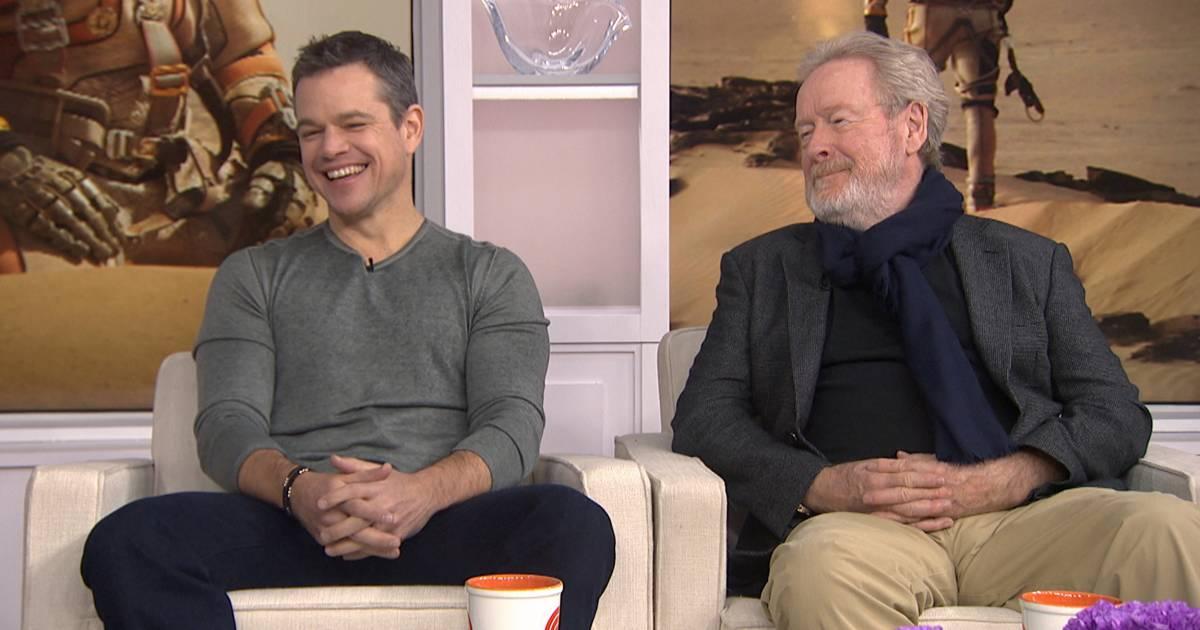 Matt Damon reacts to 'The Martian' getting a Golden Globe nomination — as a comedy