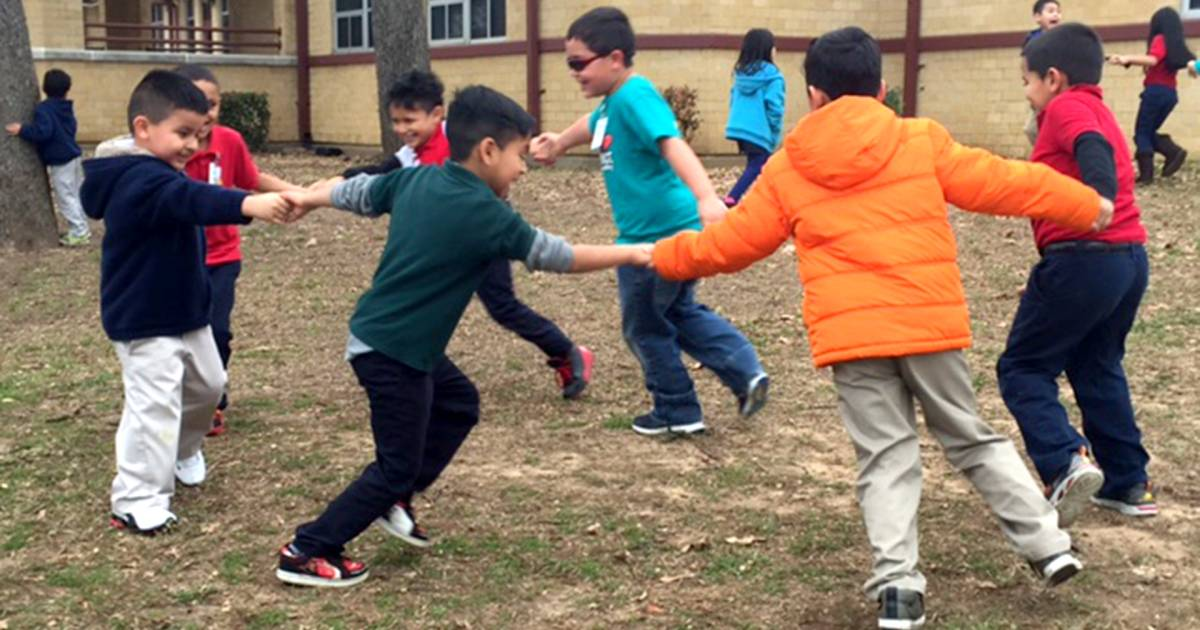 Want kids to listen more, fidget less? Try more recess... this school did