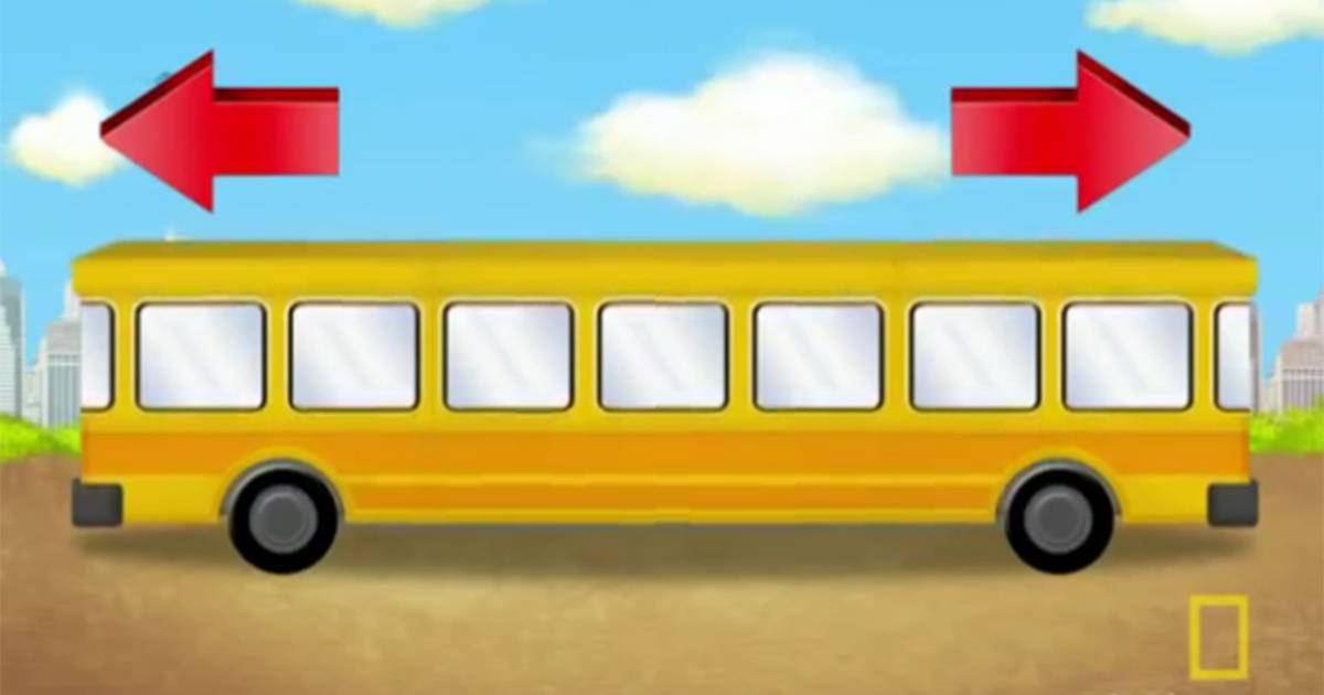 Can you crack the school bus puzzle? This easy brainteaser for kids stumps adults