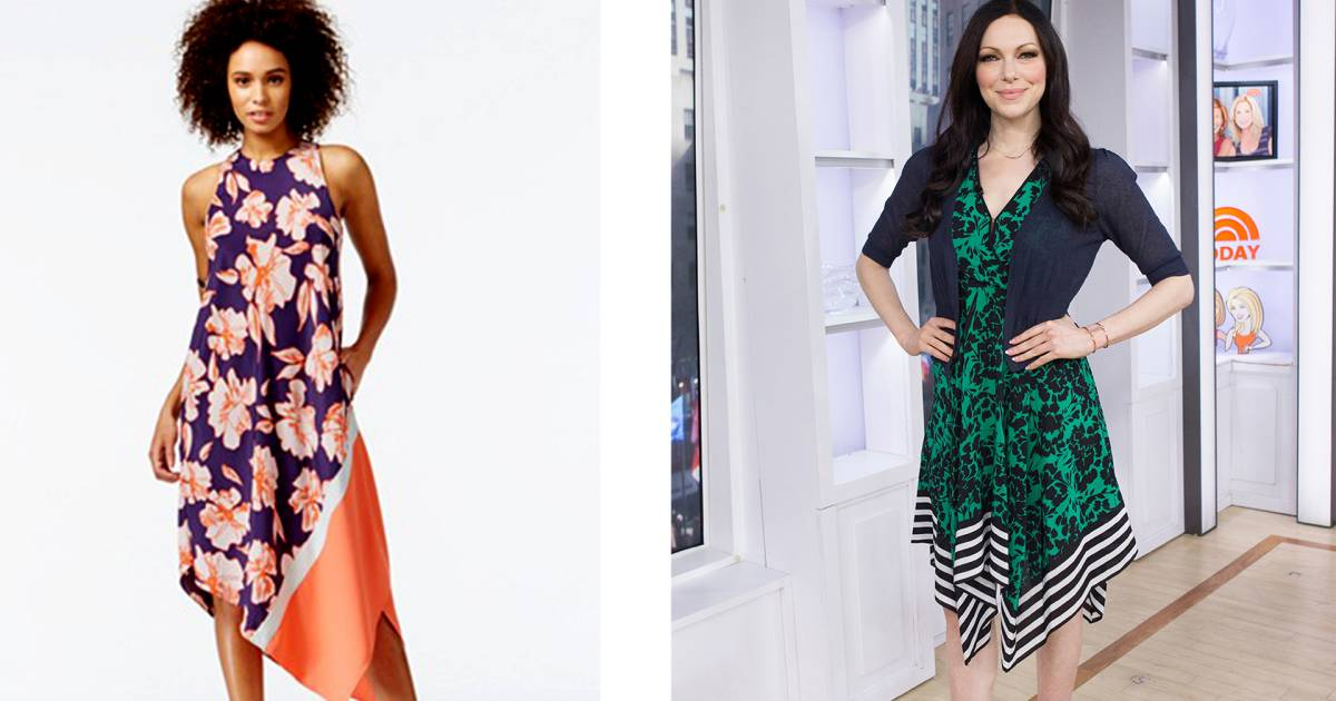 How To Wear A Versatile Handkerchief Dress This Spring