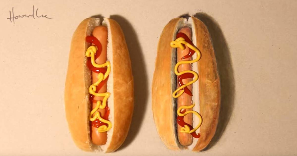 Unreal! Artist's food drawings will leave you in disbelief — and hungry
