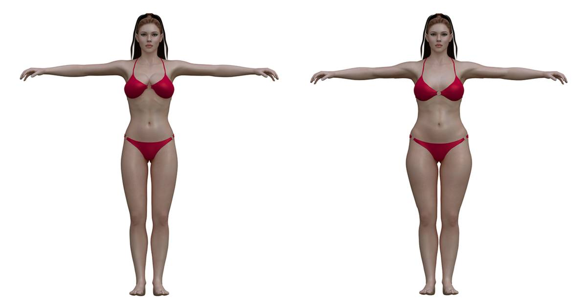 Ideal to real: What the \'perfect\' body really looks like for men and ...