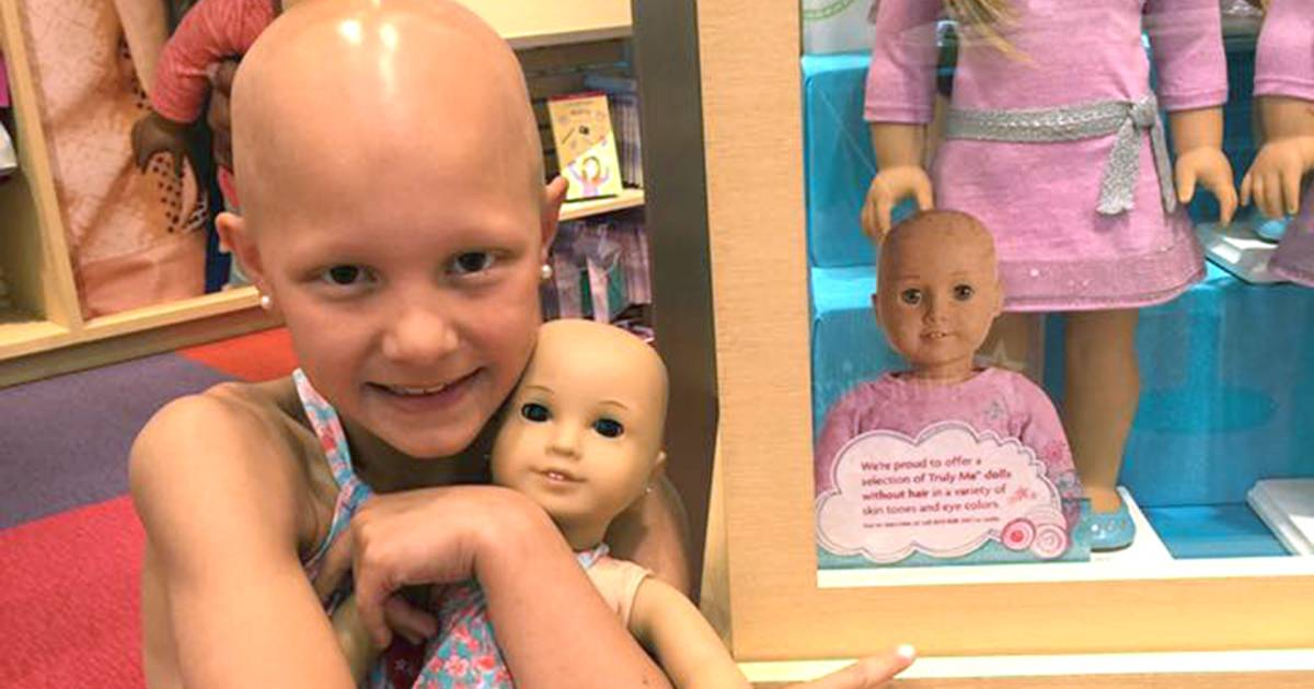 Mom Of Girl With Alopecia Thanks American Girl In Sweet Post