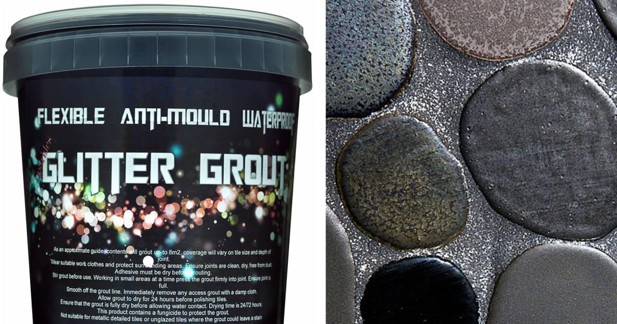 Glitter Grout Home Decor Trend
