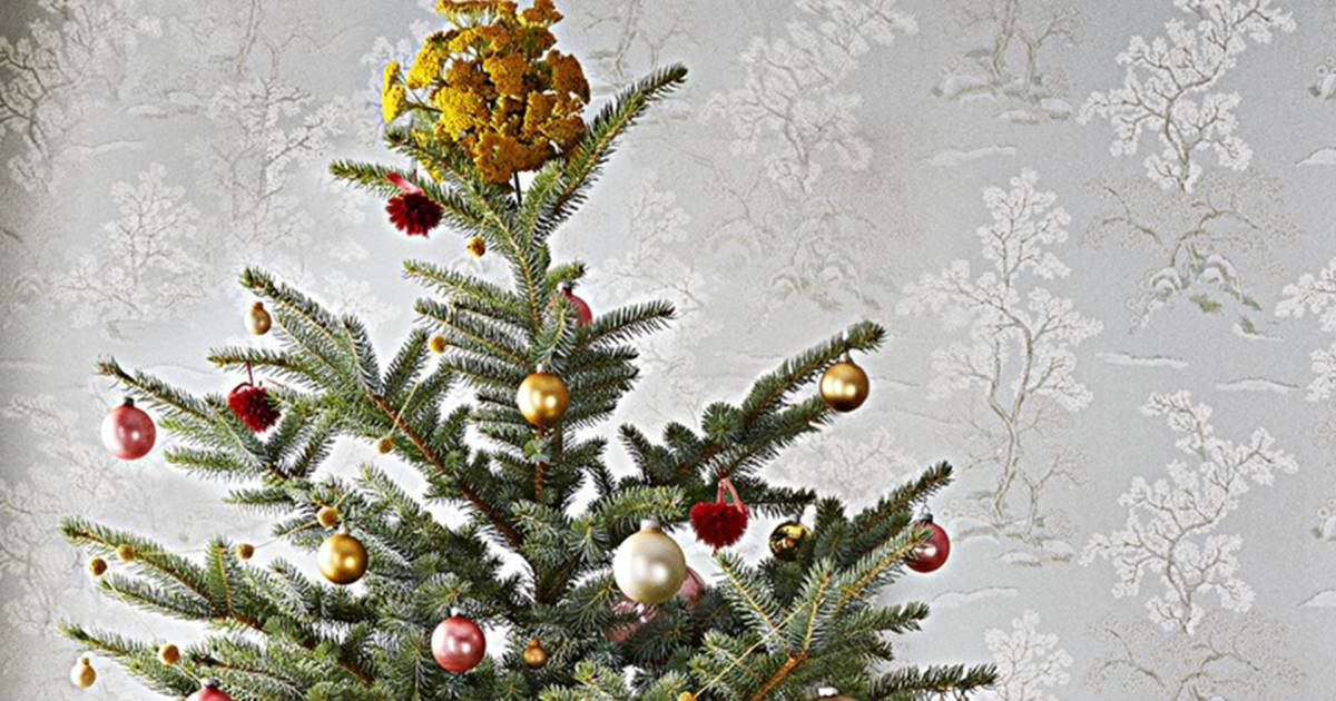 soft and natural christmas decor from martha stewart living