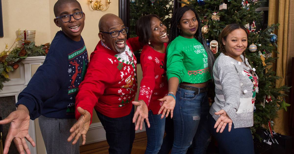 Today Anchors Show Off Adorable Holiday Cards Ugly Sweaters