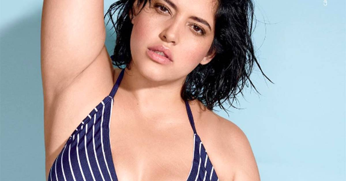 Model Denise Bidot bares stretch marks in ad for Sports ...