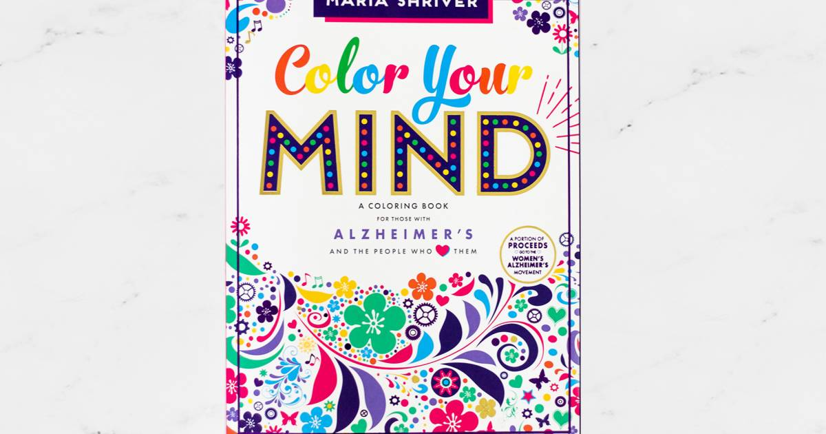 Alzheimer\'s disease coloring book created by Maria Shriver
