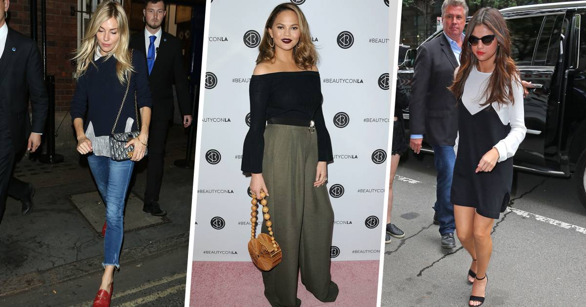 Get Chrissy Teigen's fall look and more celeb styles on a ...