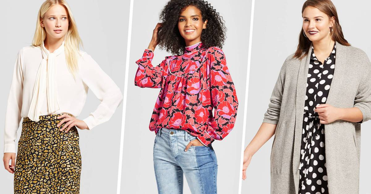 The Best Items From Targets New Fall Fashion Collection