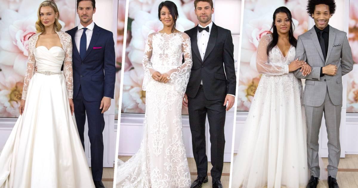 TODAY wedding 2018: See the winning wedding dress